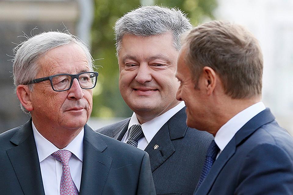 Сегодня начинает работу саммит Украина-ЕС