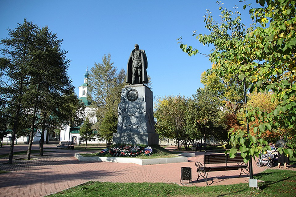 Суд отказал иркутянину виске осносе монумента Колчаку