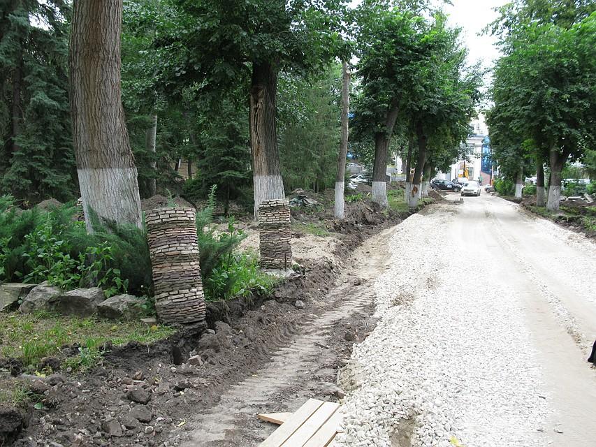 Всамарском Струковском саду демонтировали 80% железобетонных ступеней иподпорных стенок