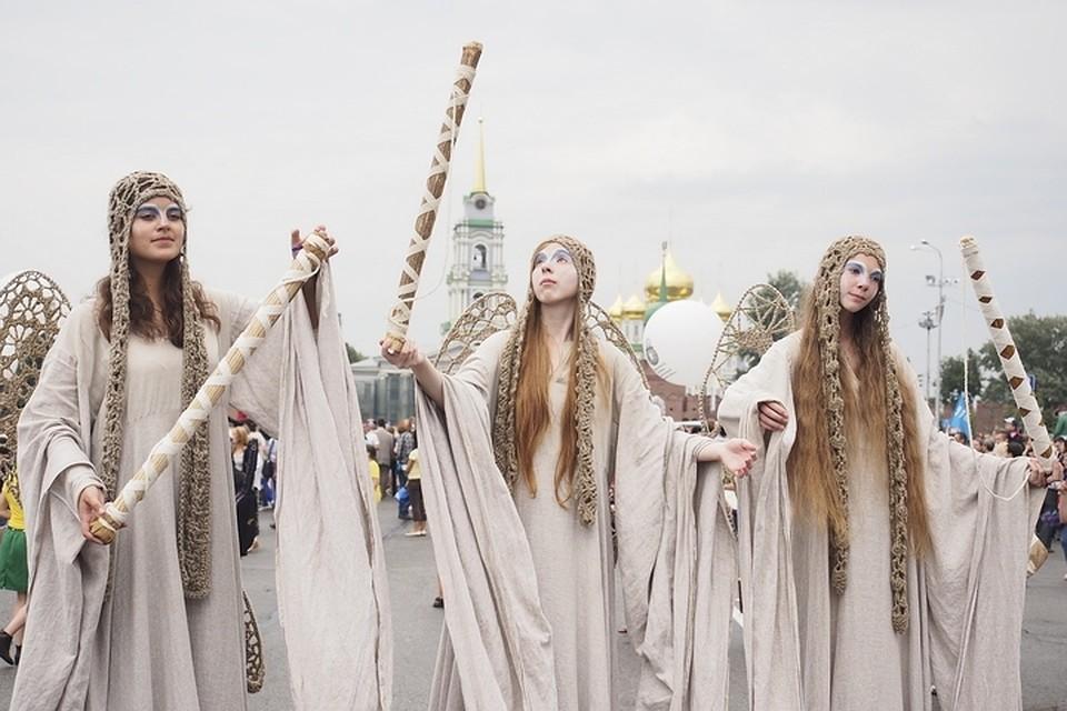 ВТуле пройдет фестиваль уличных театров