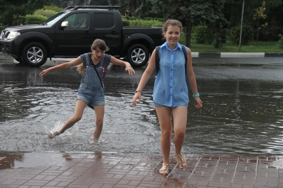 Теплая идождливая погода останется вНовосибирске навыходных