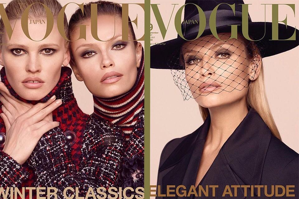 Пермская супермодель Наташа Поли снялась обнаженной для японского Vogue