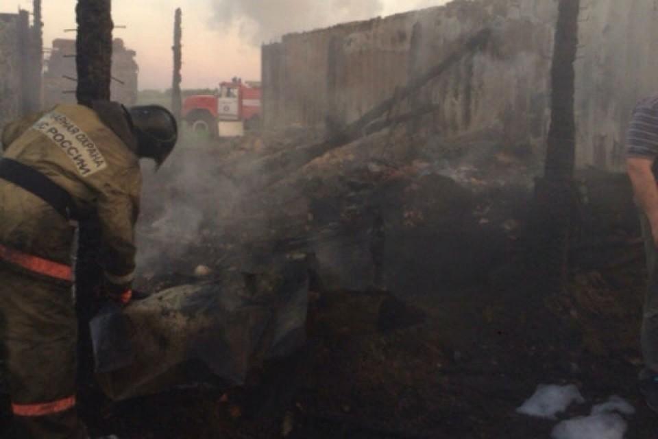 Впожаре вКрасноярском крае погибли 5 человек