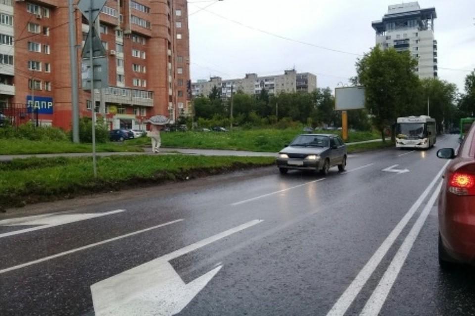Улица Островского вПерми стала четырехполосной