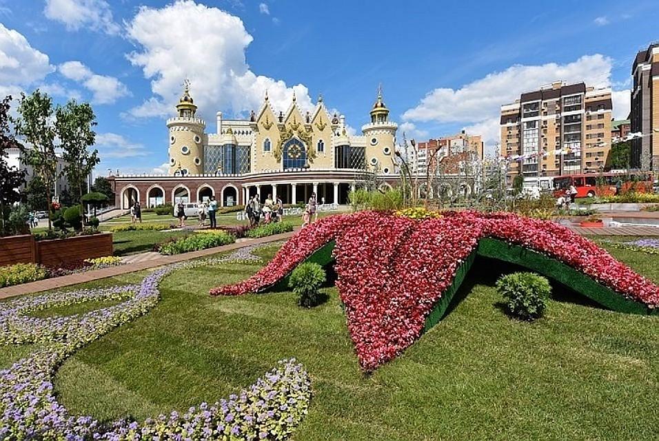 «Культурная среда» и«Цветочная Казань» пройдут около театра «Экият»