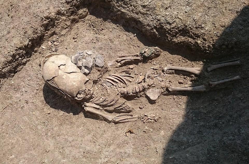 ВКрыму археологи отыскали жуткое античное захоронение