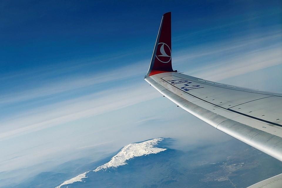 Российские туристы пожаловались на неисправность самолета'Турецких авиалиний