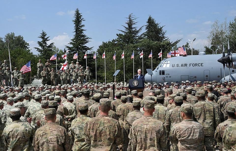 Американские военные приступили кстроительству оперативного центра навоенно-морской базе Украинского государства