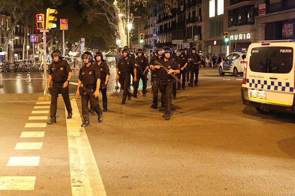 ВБарселоне террористы готовили нападения с применением взрывчатки