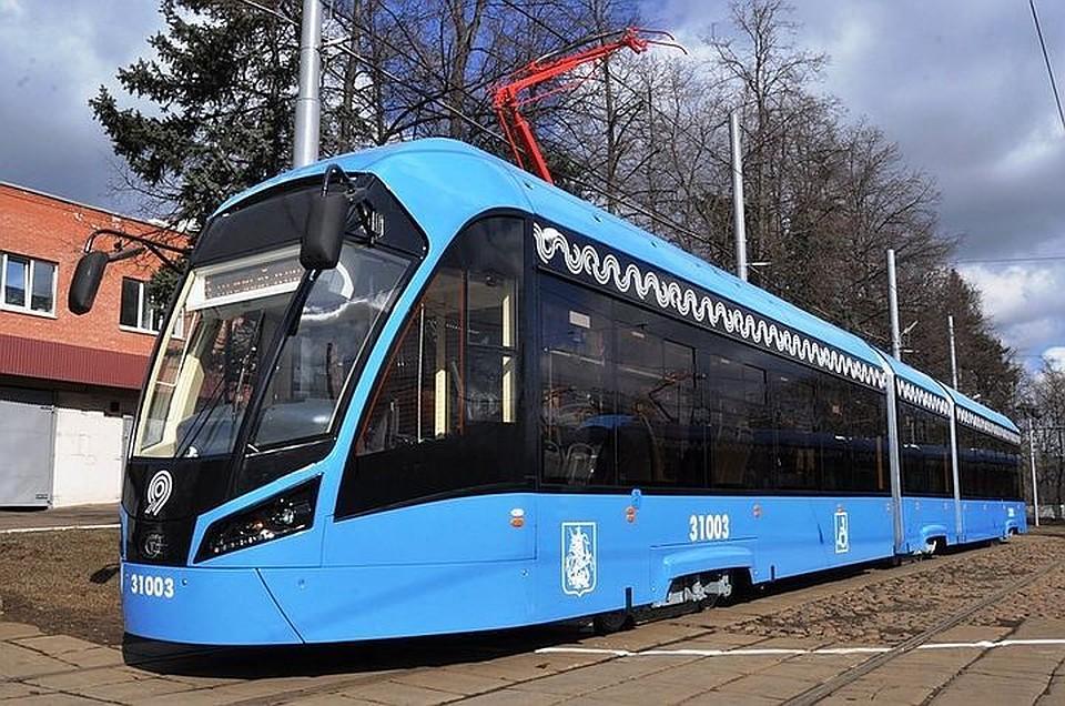 Новый маршрут низкопольного трамвая свяжет 4 вокзала Москвы
