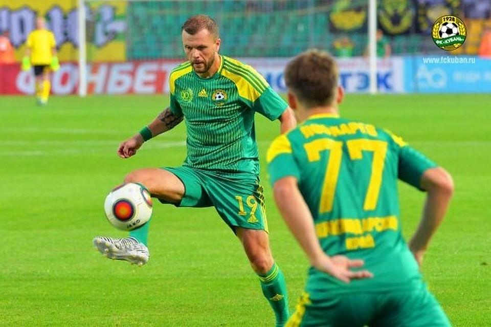 «Кубань» уступила навыезде «Тамбову» вматче 9-го тура главенства ФНЛ