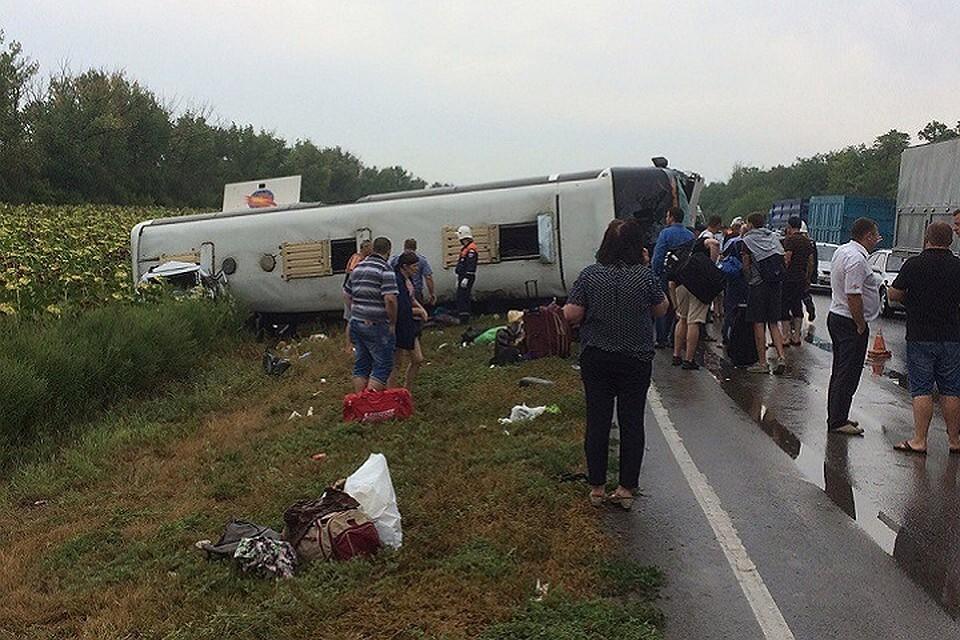 Два десятка человек пострадали в ужасной массовом трагедии под Ростовом