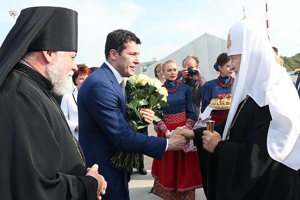 Патриарх Кирилл освятит гимназию вКалининграде