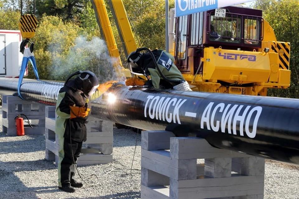 Руководитель «Газпрома» итомский губернатор дали старт строительству газопровода «Томск-Асино»