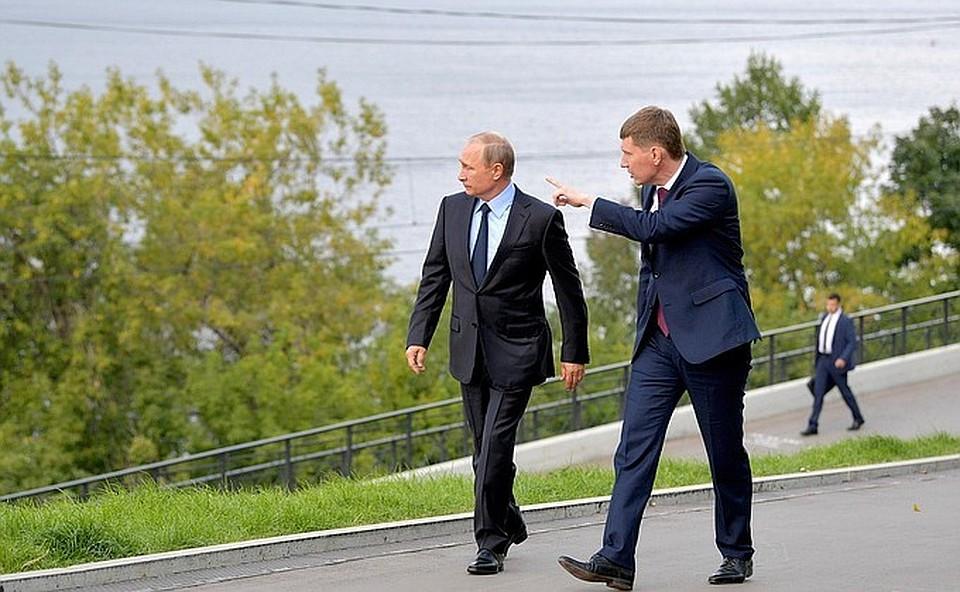Стала известна дата прилета В. Путина вПермь