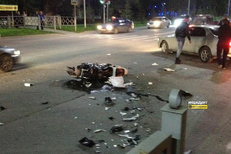 Двое мужчин погибли вутренних ДТП вНовосибирской области