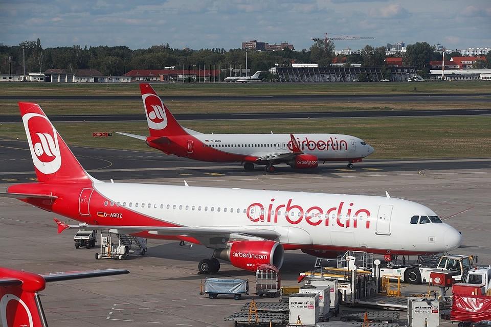 ВAir Berlin прокомментировали массовые «заболевания» пилотов— Игра с огнём