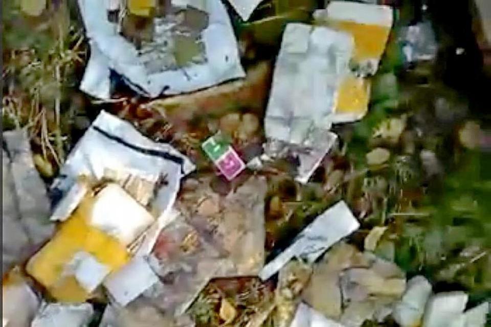Распотрошенные бандероли отыскали вЛипецке— Очередная свалка посылок