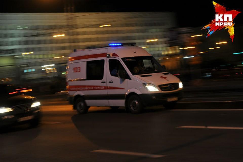 ВОмске автобус сбил пешехода