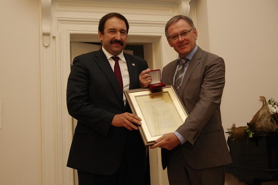 ВКазани профессору изГермании вручили интернациональную премию Арбузова