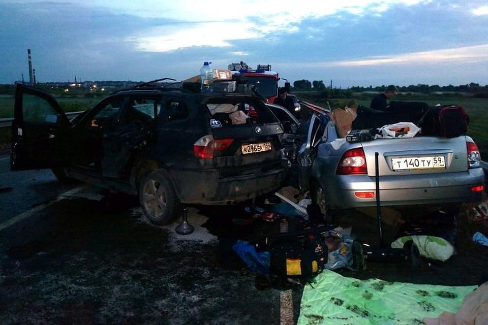 4 человека погибли сегодня ночью вДТП наобъездной Воткинска
