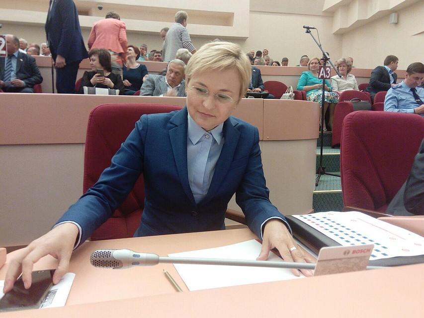 Людмила Бокова вновь будет представлять Саратовскую область вСовете Федерации