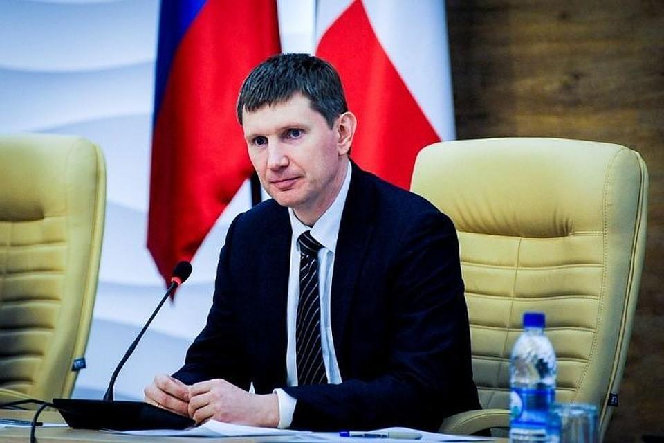 Владимир Путин предложил Евгению Савченко посодействовать кадрами другим регионам
