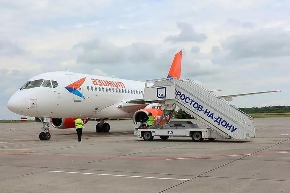 ИзРостова отправился 1-ый постоянный рейс авиакомпании «Азимут»