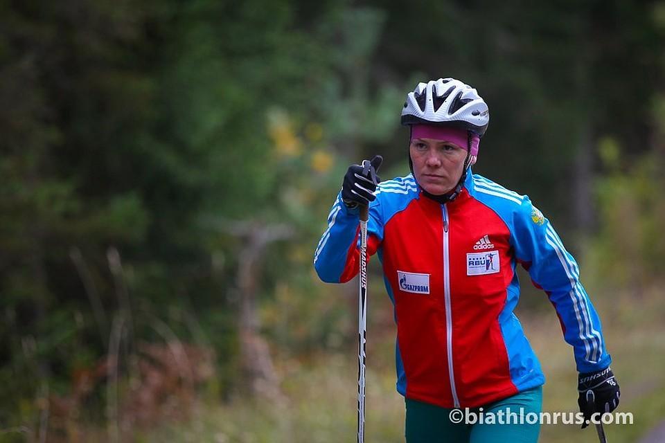 Валентина Телицина изУдмуртии стала 4-ой начемпионате РФ полетнему биатлону