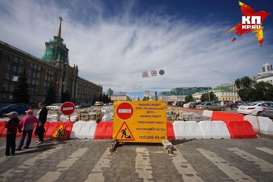 Проспект Ленина вЕкатеринбурге откроют дозакрытия Макаровского моста