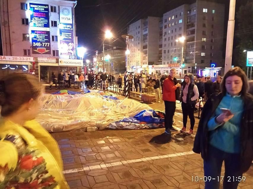 Омск попал вТОП-3 почислу массовых эвакуаций