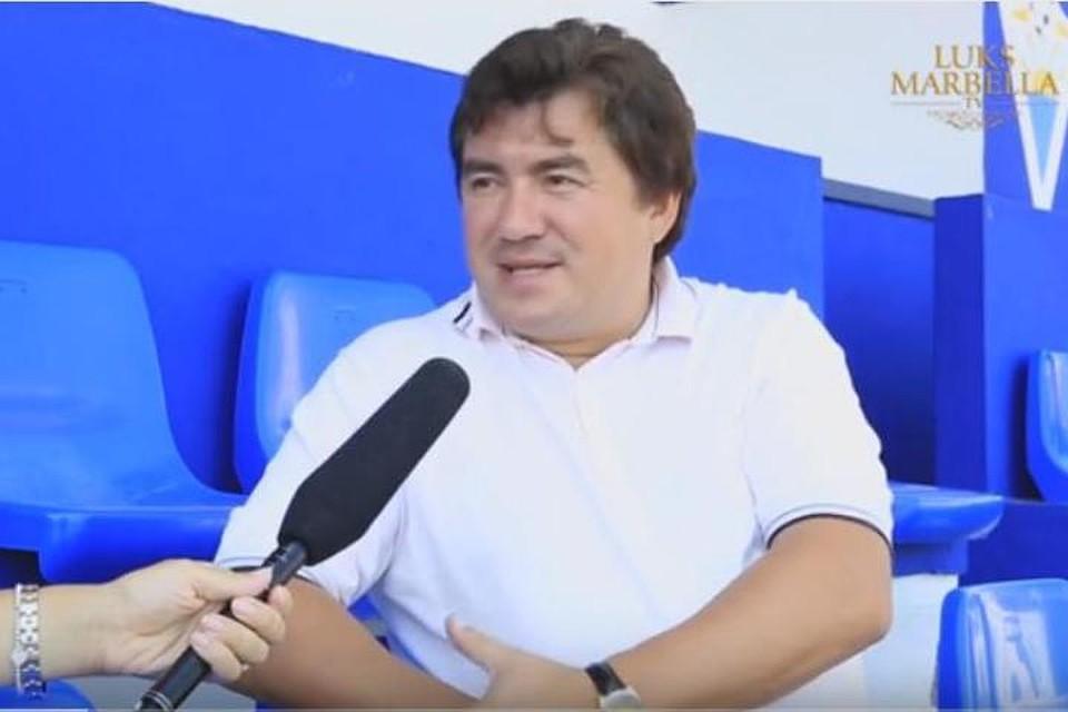 Российский бизнесмен Александр Гринберг является владельцем и президентом футбольного клуба Марбелья с 2008 года