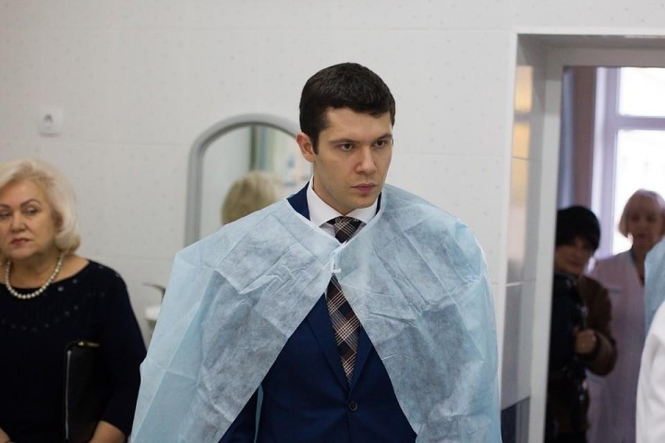 Руководитель Калининградской области Алиханов вступил вдолжность