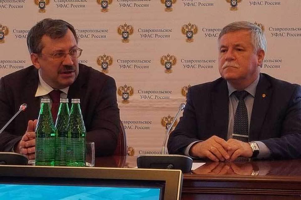 Глава Ставрополья Владимиров встретился сзаместителем руководителя ФАС