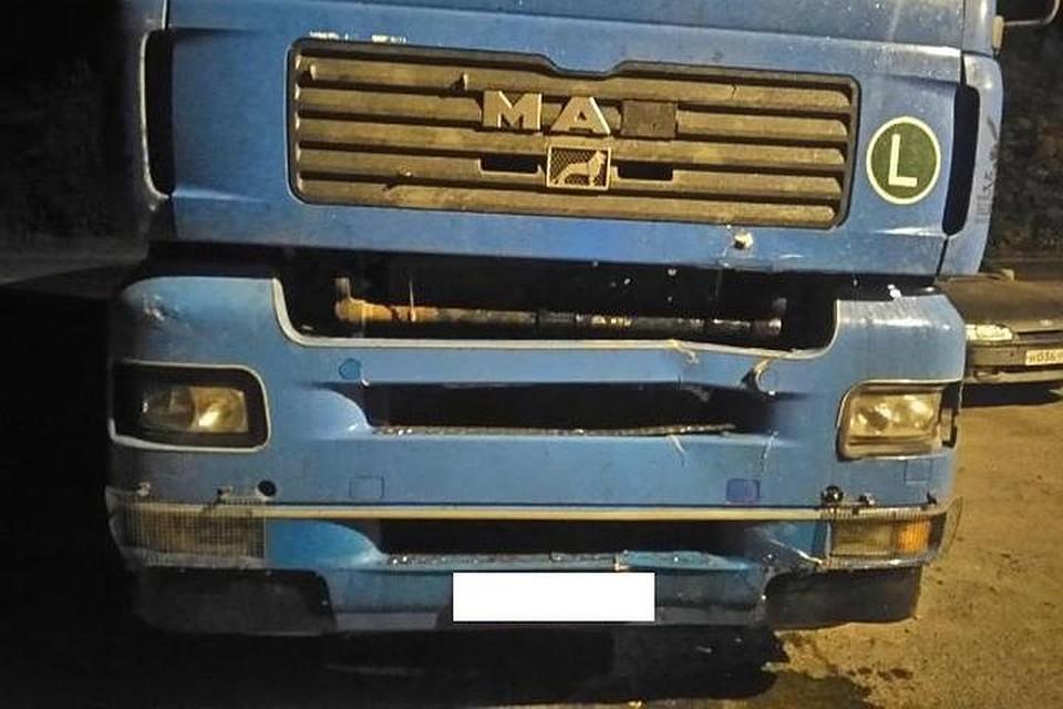 Натрассе Екатеринбург— Тюмень шофёр грузового автомобиля сбил пешехода