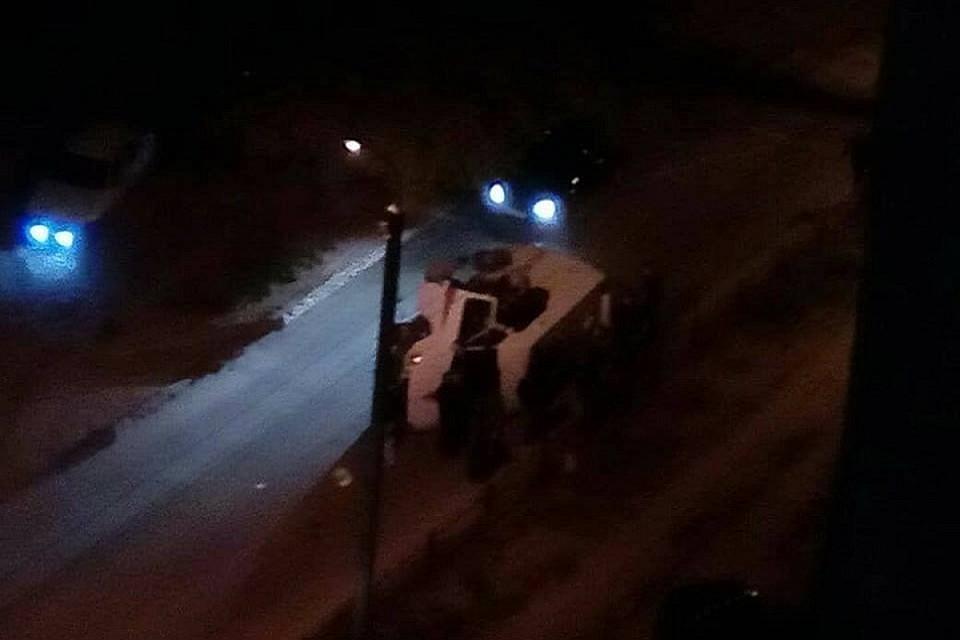 Насевере Волгограда перевернулась карета скорой помощи