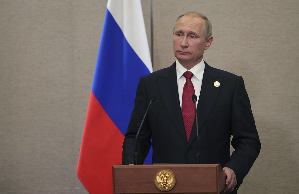 Российская Федерация нискем неведёт двойную игру— Путин