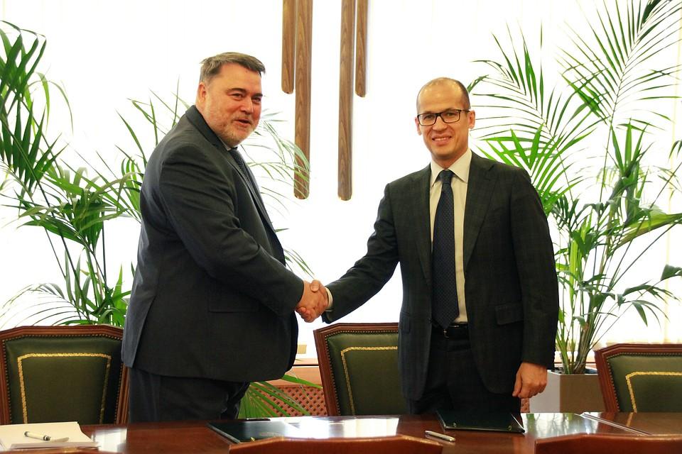 Управляющий ФАС РФ иГлава Удмуртии подписали соглашение осотрудничестве ФОТО