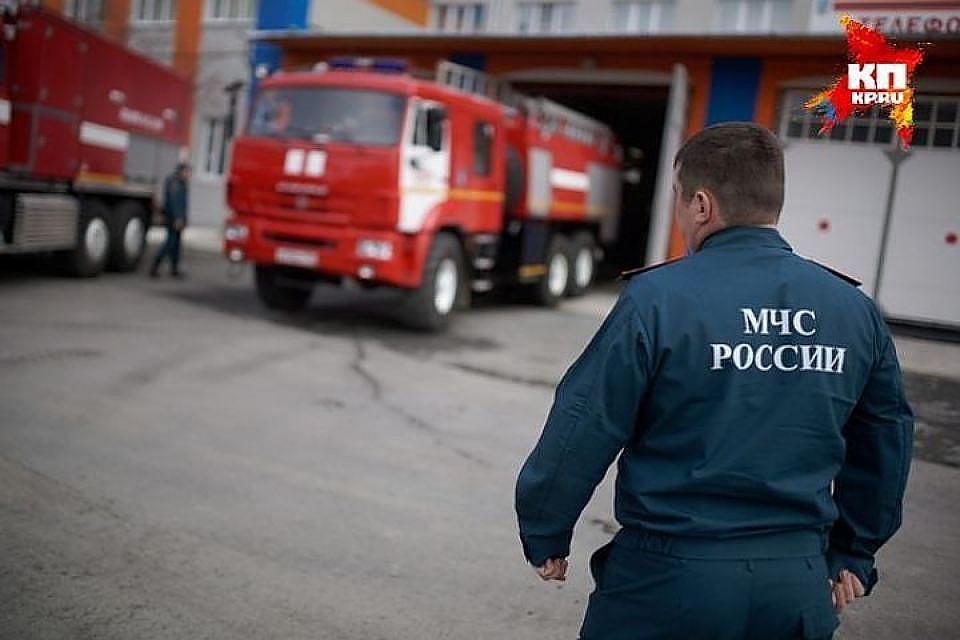 ВКемерове пожарные спасли шестерых жильцов многоэтажки