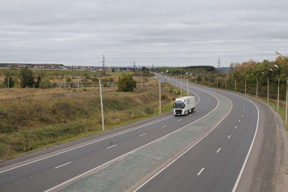 Закончился ремонт на40-м кмобъездной дороги Ижевска
