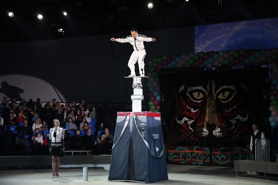 ВЧелябинск приедут лучшие циркачи совсей РФ