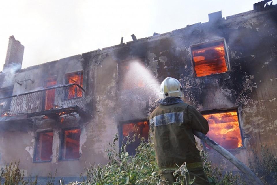 Впожаре вСлободском районе умер мужчина