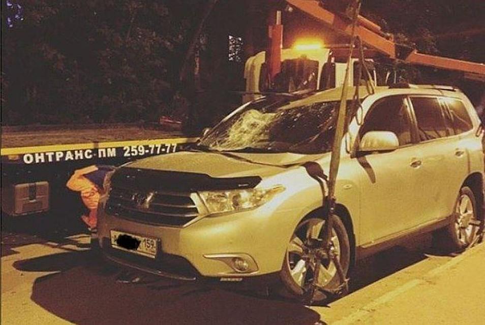 Пермские водители смогут забрать эвакуированный автомобиль до штрафстоянки