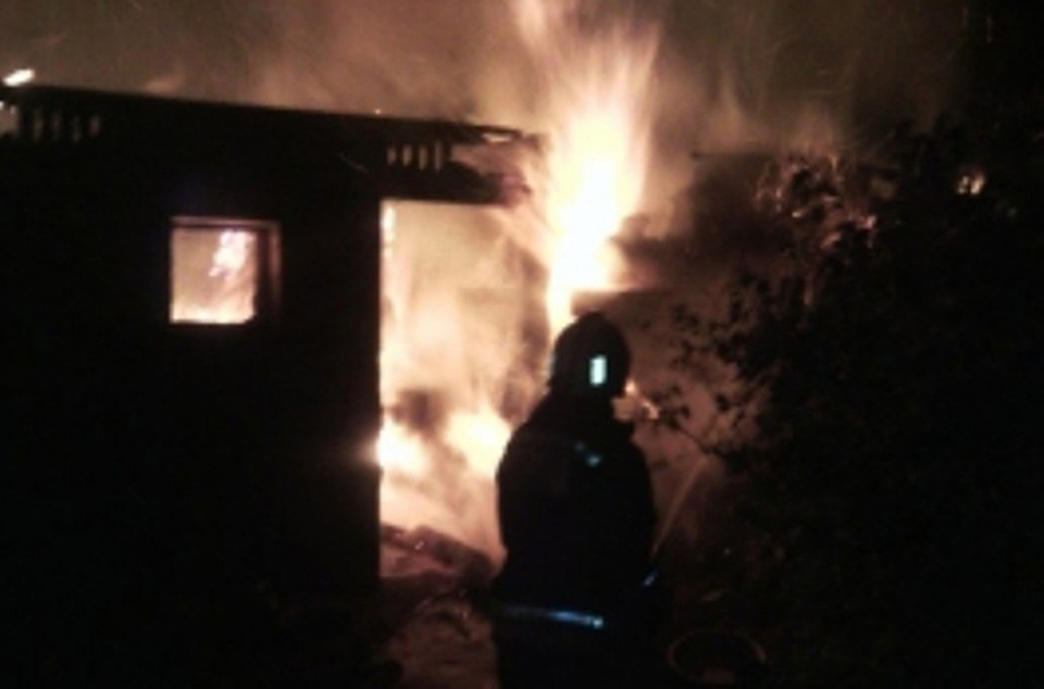 НаОрловщине сгорел дом. Пострадали две женщины