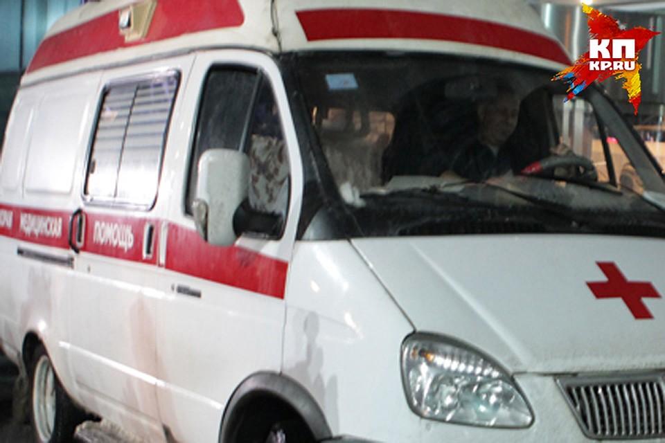ВБрянске измашины скорой помощи находу выпала пассажирка