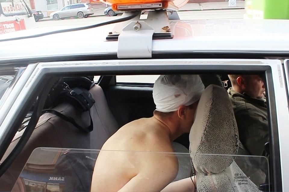Голый сибиряк убежал из клиники иповелению Творца угнал машину