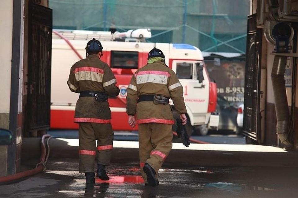 ВСлавянском районе из-за взрыва газа зажегся дом