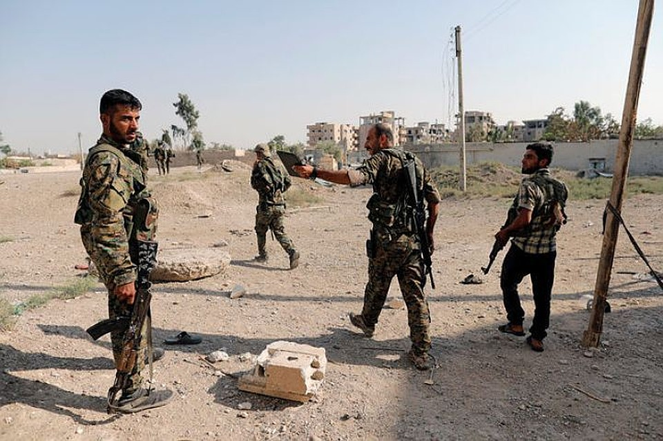 Ракка навсе 100%  освобождена отбоевиков ИГ— Коалиция СДС