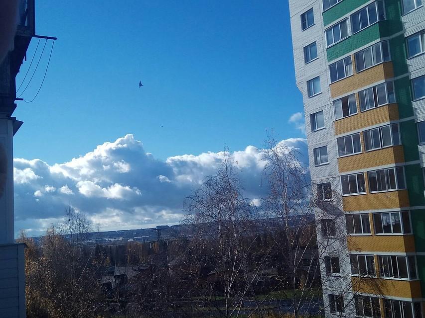 «Русские Витязи» пролетели над Ижевском