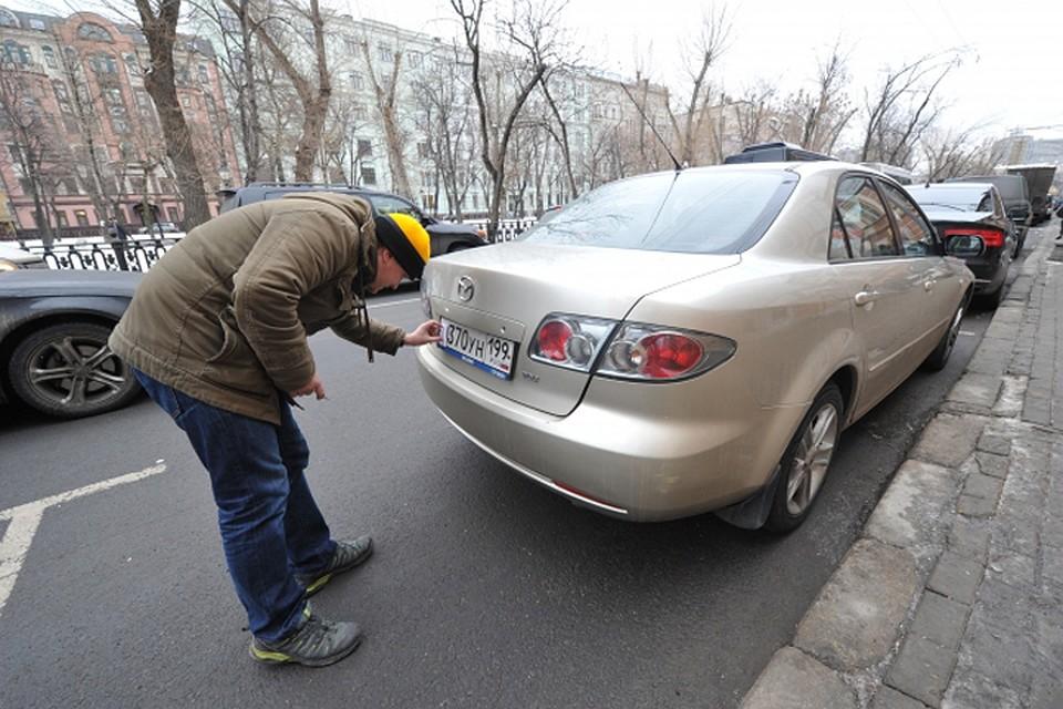 ВДзержинске водителя лишили прав застёртую букву нагосномере автомобиля